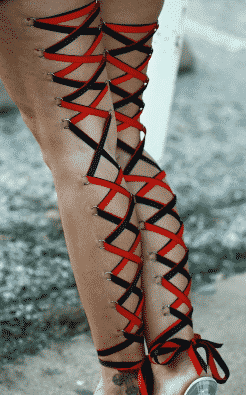 Leg Corset Piercing