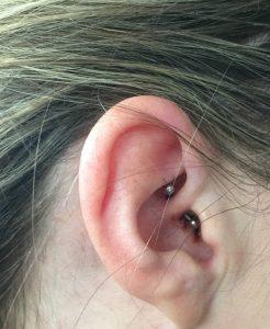 daith piercing barbell