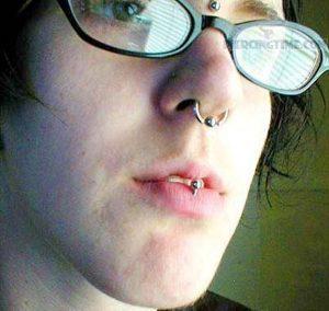 Lip Piercing Images