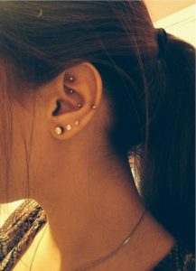 Auricle Helix Piercing