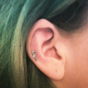 Auricle Piercing Pictures