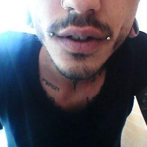 Dahlia Lip Piercing
