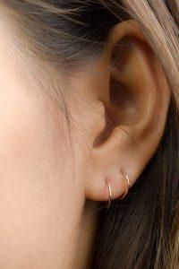 Double Ear Piercing Earrings