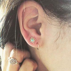Double Ear Piercing Ideas