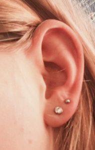 Double Ears Pierced
