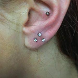 Ear Piercing Lobe Pictures