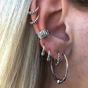 Gothic Ear Piercing